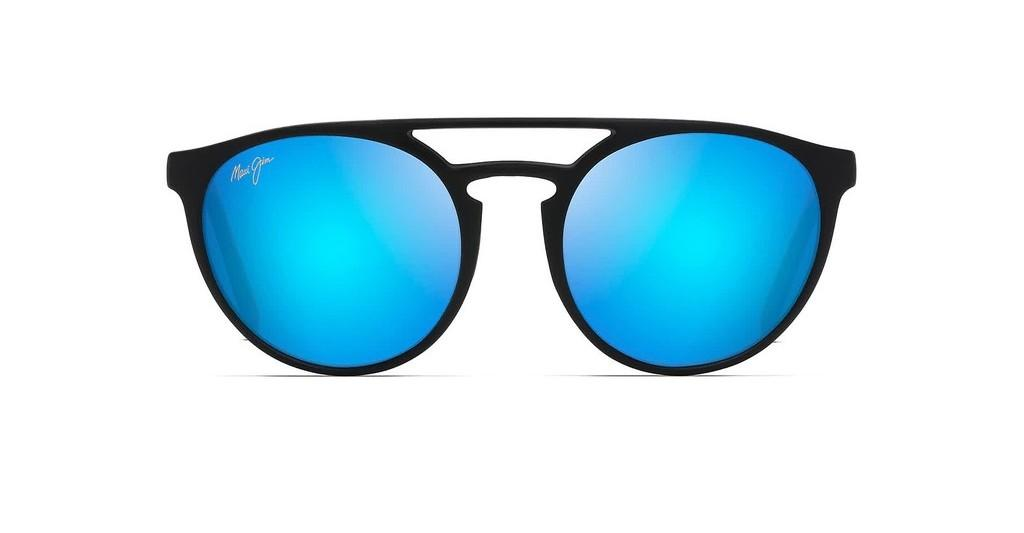 Maui Jim   Ah Dang B781-2M Blue HawaiiMatte Black