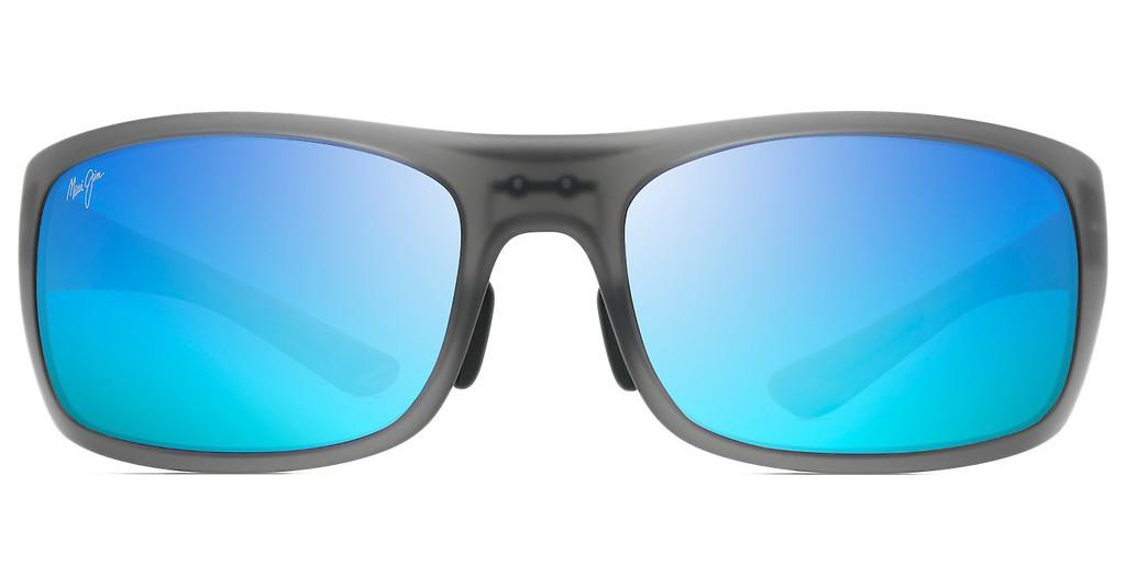 Maui Jim   Big Wave B440-11M Blue HawaiiTranslucent Matte Grey