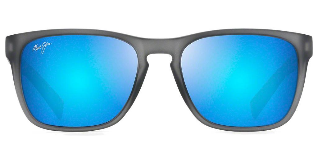 Maui Jim   Longitude B762-11M Blue HawaiiMatte Translucent Grey