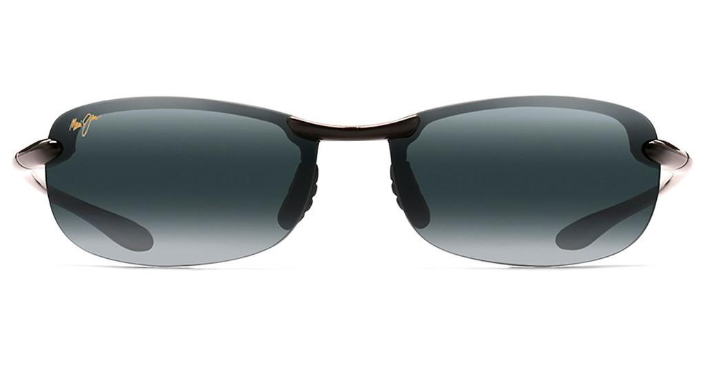 Maui Jim   Makaha Readers G805-0220 Neutral Grey (dpt. 2.0)Gloss Black