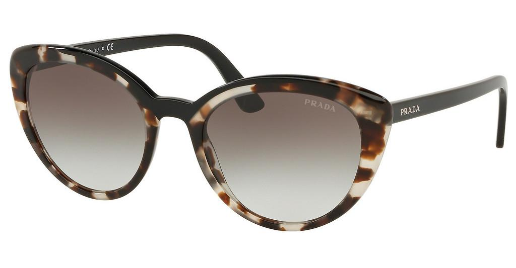 Prada   PR 02VS 3980A7 GREY GRADIENTOPAL SPOTTED BROWN/BLACK