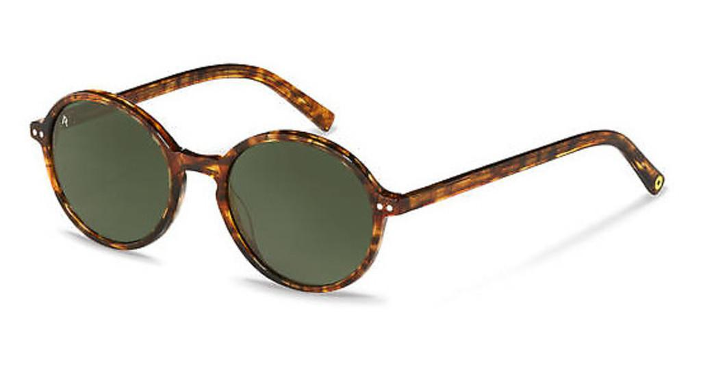 Rocco by Rodenstock   RR334 A brown structured