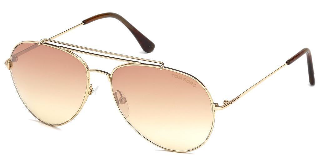 Tom Ford   FT0497 28Z verspiegeltrosé