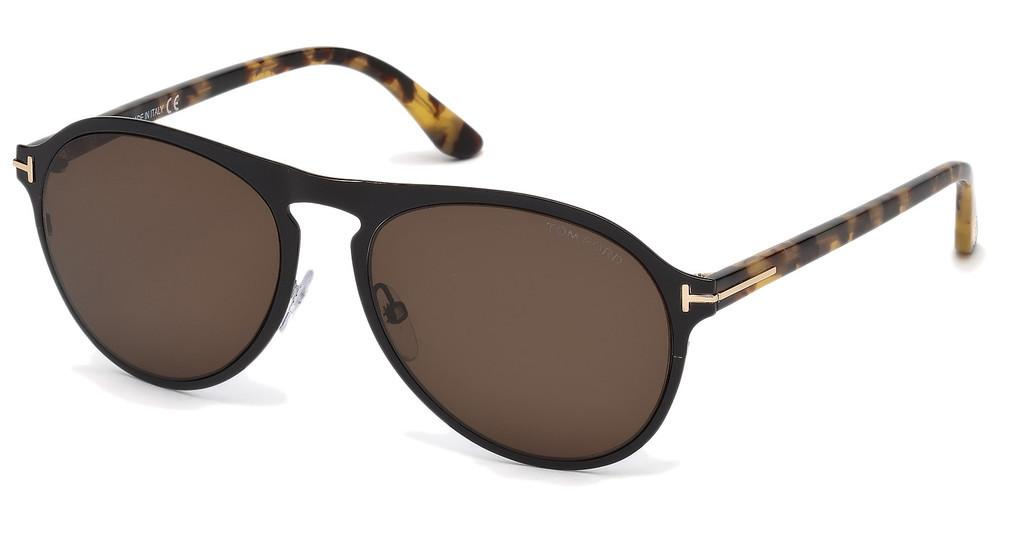 Tom Ford   FT0525 01E braunschwarz glanz