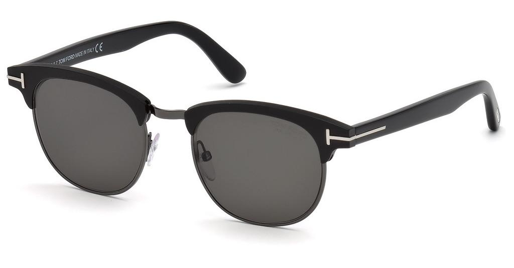 Tom Ford   FT0623 02D grau polarisierendschwarz matt