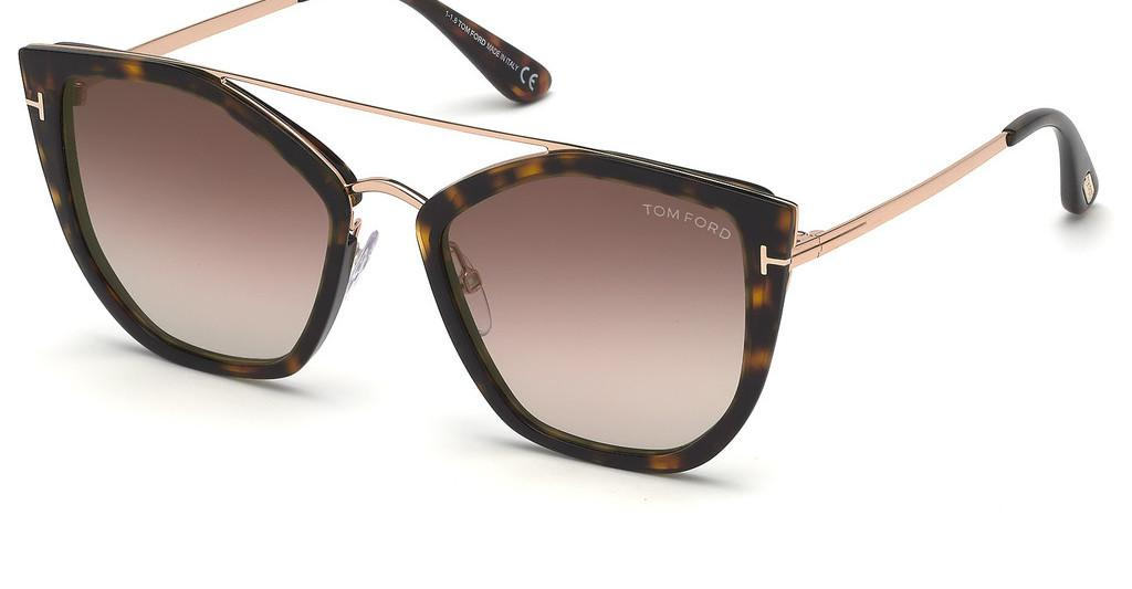 Tom Ford   FT0648 52G braun verspiegelthavanna dunkel