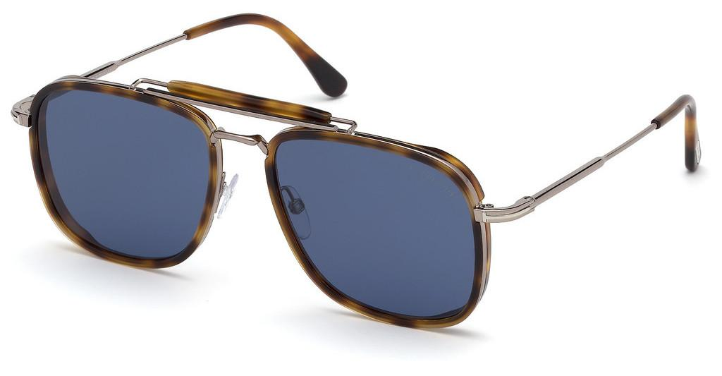 Tom Ford   FT0665 53V blauhavanna blond