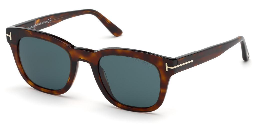 Tom Ford   FT0676 54N grünhavanna rot