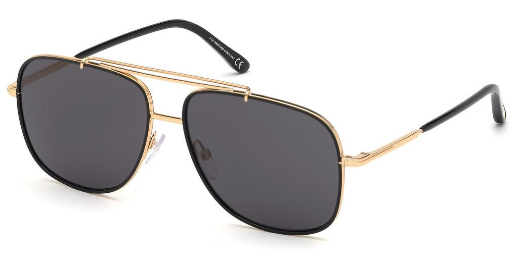 Tom Ford   FT0693 30A grautiefes gold glanz