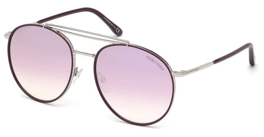 Tom Ford   FT0694 16T bordeaux verlaufendpalladium glanz