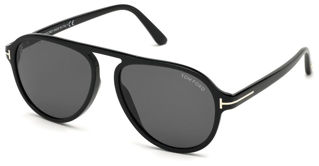 Tom Ford   FT0756 01A grauschwarz glanz