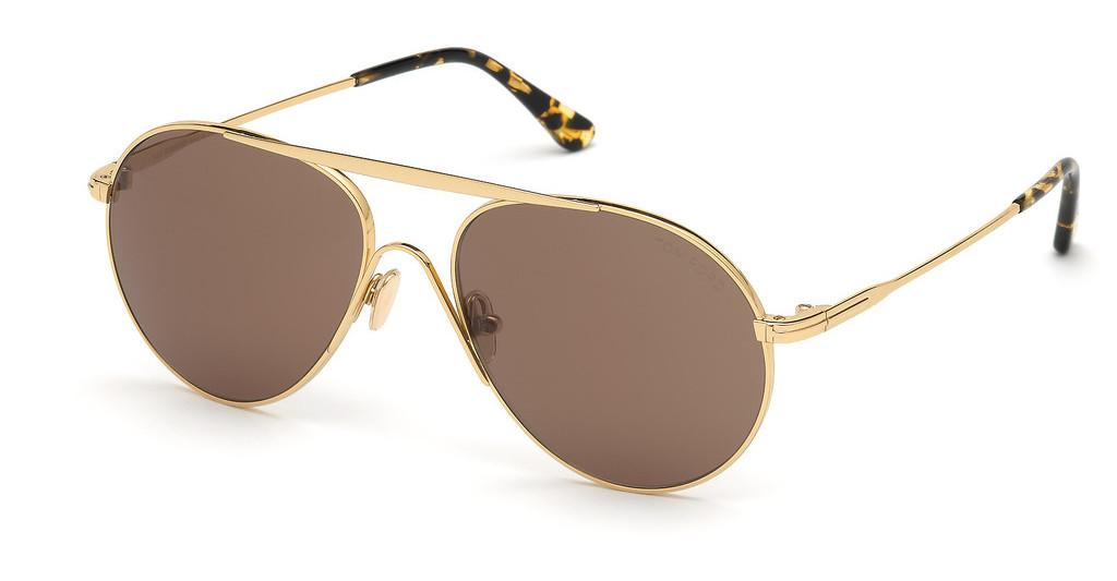 Tom Ford   FT0773 30E brauntiefes gold glanz