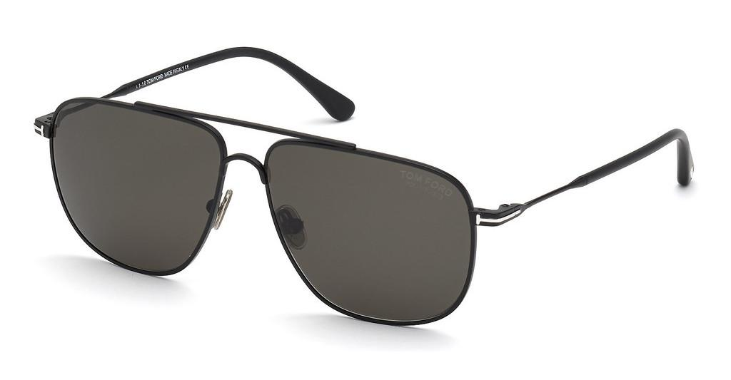 Tom Ford   FT0815 02D grau polarisierendschwarz matt