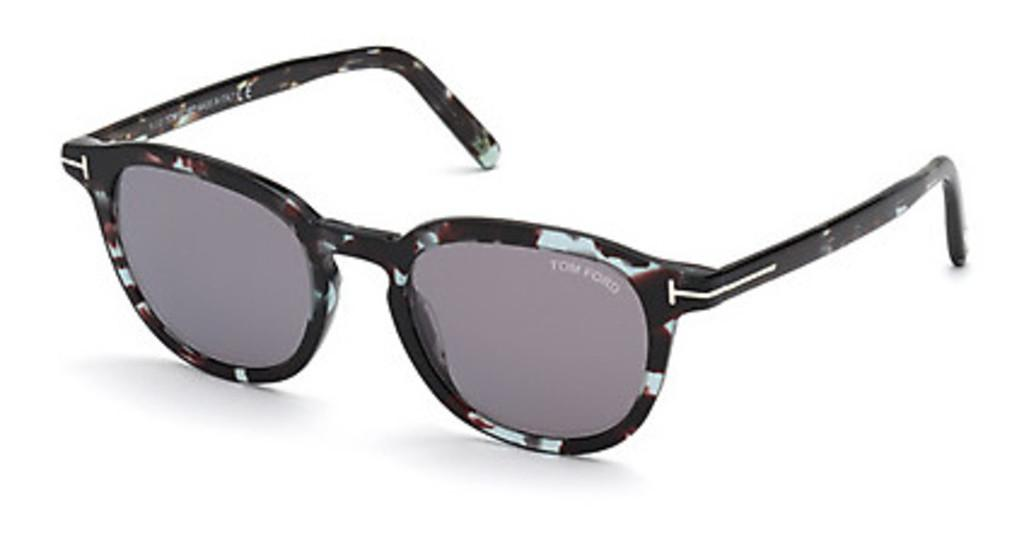 Tom Ford   FT0816 55C grau verspiegelthavanna bunt