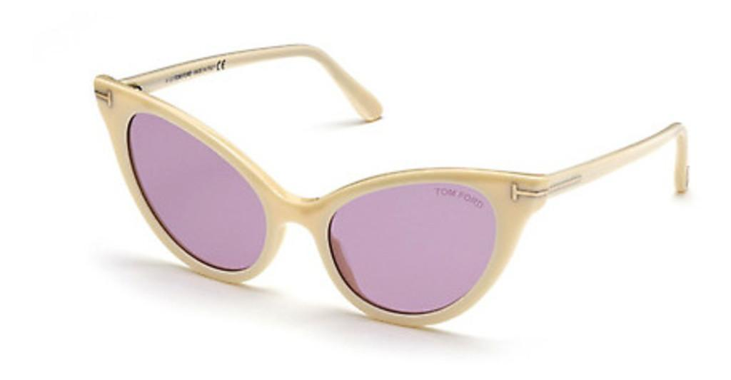 Tom Ford   FT0820 25Z violett ver. odelfenbein