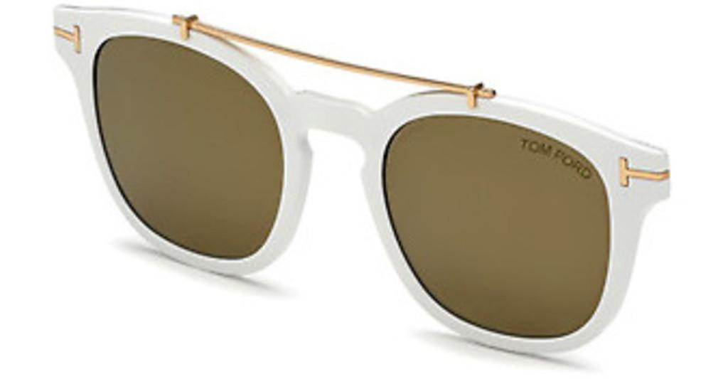 Tom Ford   FT5532-B-CL 21G braun verspiegeltweiss