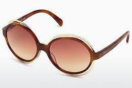 Lunettes de soleil Emilio Pucci EP0055 53Z - Havanna, Yellow, Blond, Brown