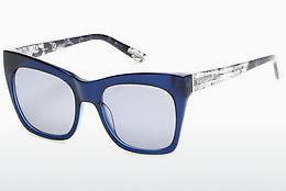 Lunettes de soleil Guess by Marciano GM0759 84X - Bleues, Azure, Shiny