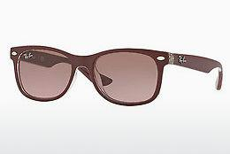 Lunettes de soleil Ray-Ban Junior Junior New Wayfarer (RJ9052S 702414) - Rouges, Transparentes