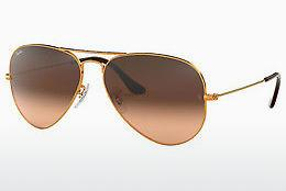 Lunettes de soleil Ray-Ban AVIATOR LARGE METAL (RB3025 9001A5) - Brunes