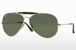 Lunettes de soleil Ray-Ban OUTDOORSMAN II (RB3029 181) - Or