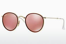 Lunettes de soleil Ray-Ban ROUND (RB3517 001/Z2) - Or
