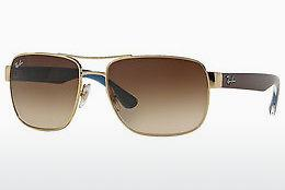 Lunettes de soleil Ray-Ban RB3530 001/13 - Or