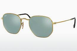 Lunettes de soleil Ray-Ban Hexagonal (RB3548N 001/30) - Or