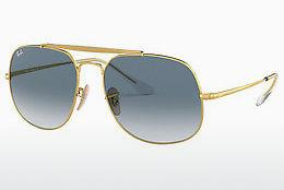 Lunettes de soleil Ray-Ban The General (RB3561 001/3F) - Or