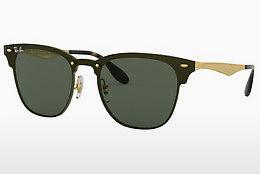 Lunettes de soleil Ray-Ban Blaze Clubmaster (RB3576N 043/71) - Or