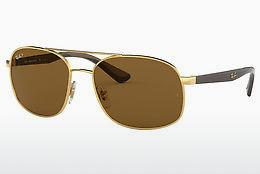 Lunettes de soleil Ray-Ban RB3593 001/83 - Or