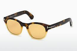 Lunettes de soleil Tom Ford FT0531 55E - Multicolores, Brunes, Havanna