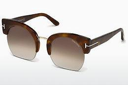 Lunettes de soleil Tom Ford Savannah (FT0552 53F) - Havanna, Yellow, Blond, Brown