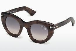 Lunettes de soleil Tom Ford FT0583 55B - Multicolores, Brunes, Havanna