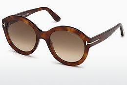 Lunettes de soleil Tom Ford FT0611 53F - Havanna, Yellow, Blond, Brown