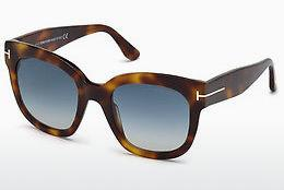 Lunettes de soleil Tom Ford FT0613 53W - Havanna, Yellow, Blond, Brown