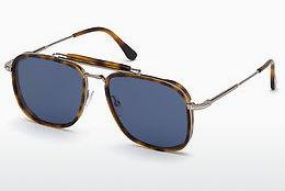 Lunettes de soleil Tom Ford FT0665 53V - Havanna, Yellow, Blond, Brown