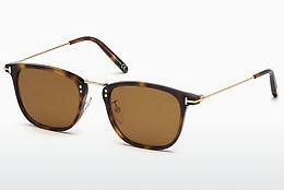 Lunettes de soleil Tom Ford FT0672 53E - Havanna, Yellow, Blond, Brown