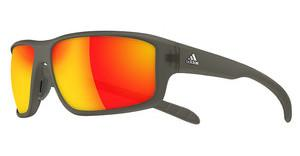 Adidas A424 6057 grey/red mirror Humber mat transparent