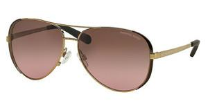 Michael Kors MK5004 101414 BROWN ROSE GRADIENTGOLD/DK CHOCOLATE BROWN