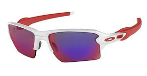 Oakley OO9188 918821 POSITIVE RED IRIDIUMPOLISHED WHITE