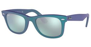 Ray-Ban RB2140 611330 GREEN MIRROR SILVERMETTALLIC AZURE