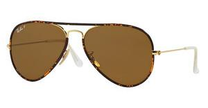Ray-Ban RB3025JM 001/57 CRYSTAL BROWN POLARARISTA