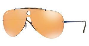 Ray-Ban RB3581N 90387J DARK ORANGE MIRROR GOLDBLUE