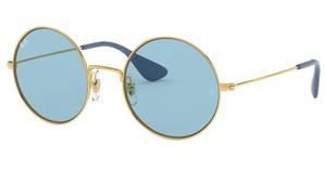 Ray-Ban RB3592 001/F7 LIGHT BLUE EXTERNAL AVGOLD