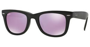 Ray-Ban RB4105 601S4K GREEN MIRROR LILACMATTE BLACK