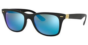Ray-Ban RB4195 631855 BLUE FLASHMATTE BLACK
