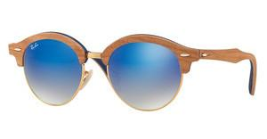 Ray-Ban RB4246M 11807Q GREY GRADIENT BROWN MIRROR BLUGOLD
