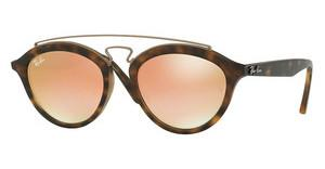 Ray-Ban RB4257 6267B9 MIRROR GRADIENT COPPERMATTE HAVANA