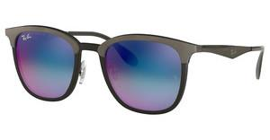 Ray-Ban RB4278 6284B1 GREEN MIRROR BLUE GRAD VIOLETBLACK/MATTE GREY